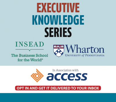 INSEAD AND WHARTON BANNER