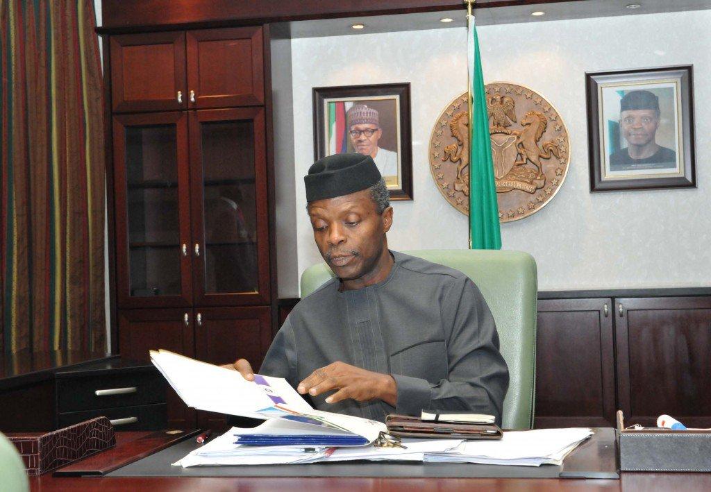 Yemi Osinbajo, Nigeria Acting President