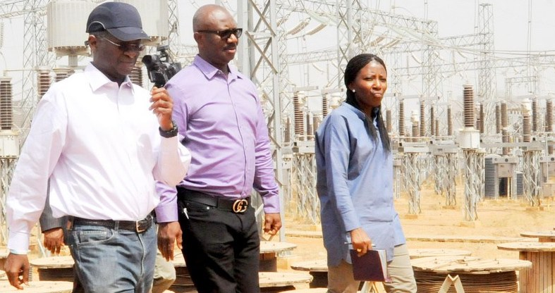 Babatunde Fashola inspects Kukwaba power project in Abuja