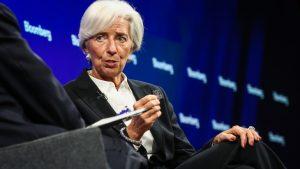 Christine Lagarde, managing director of the International Monetary Fund (IMF),