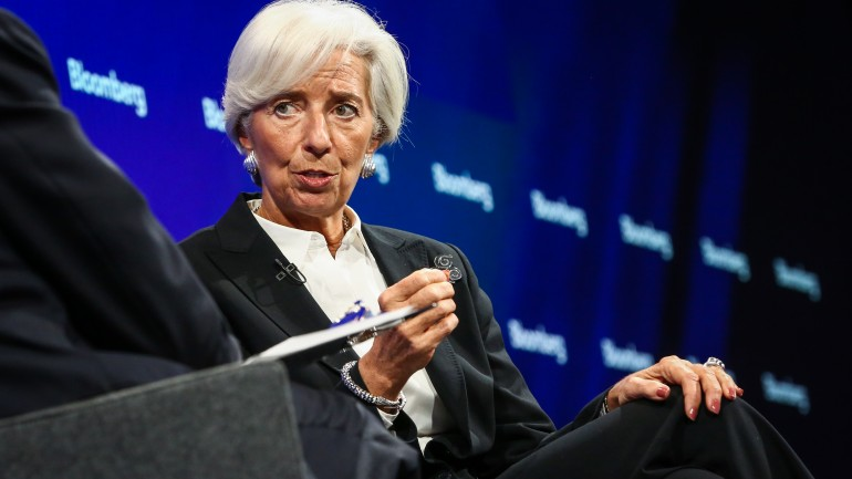 Christine Lagarde, managing director of the International Monetary Fund (IMF),