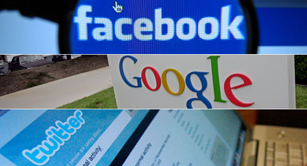 Facebook, Google and Twitter  Businessamlive