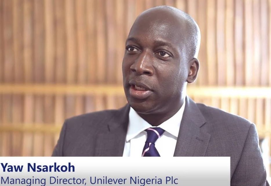 Yaw Nsarkoh, Unilever's managing director