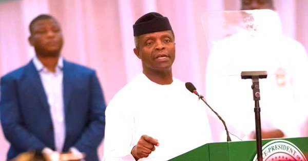 Yemi Osinbajo, Nigeria's vice president