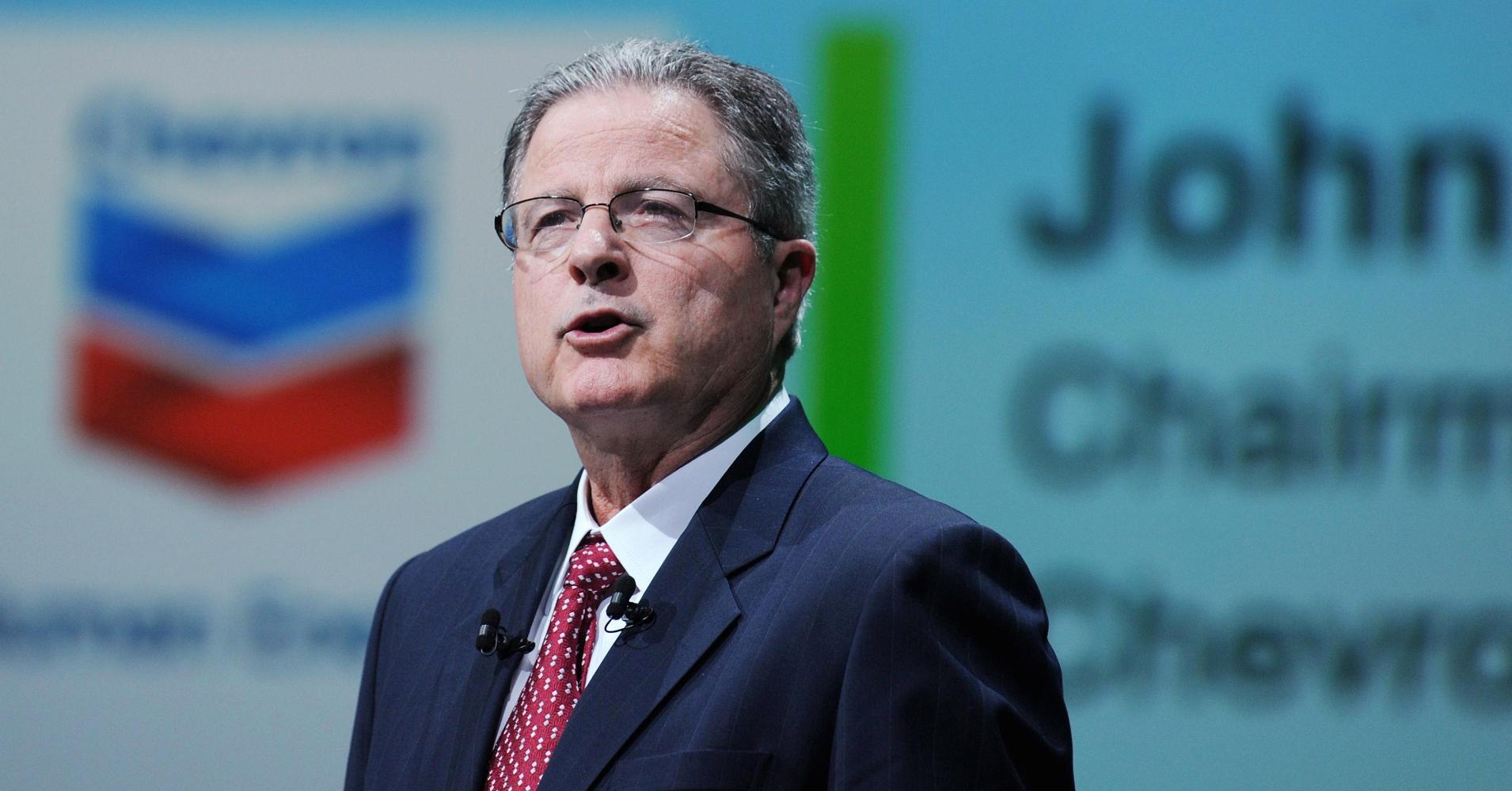 John Watson, Chevron Corp Chief Executive