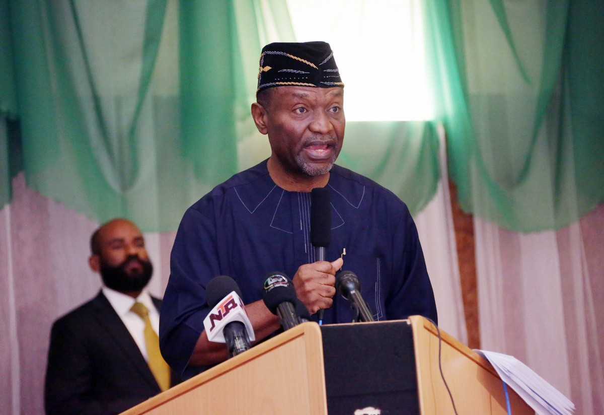 Sen. Udoma Udo Udoma, Minister of Budget and National Planning