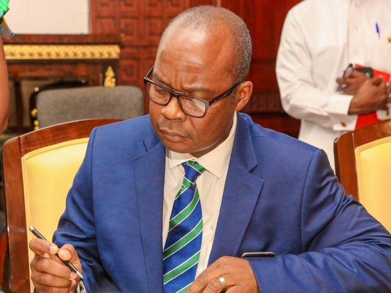 Ernest Addison, Bank of Ghana Governor