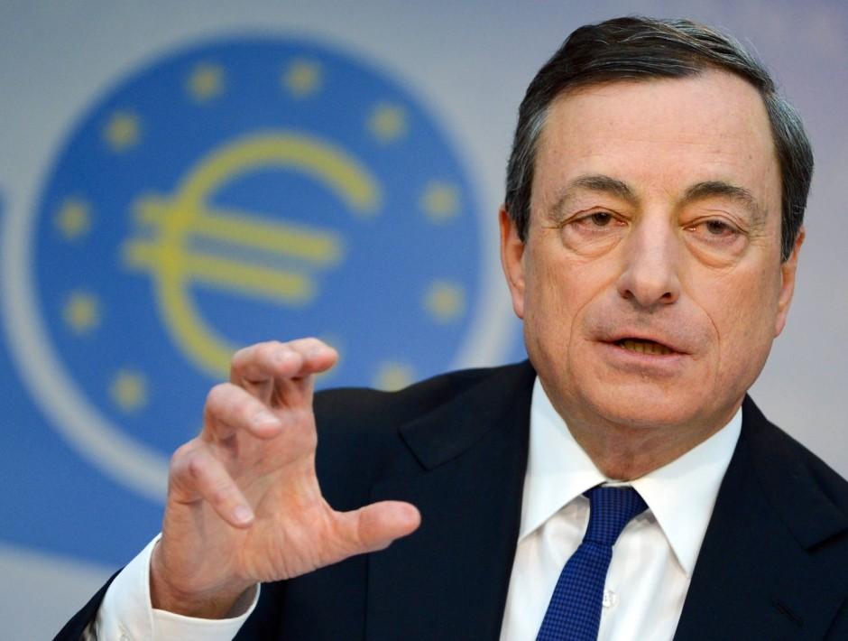 Mario Draghi, European Central Bank (ECB) president