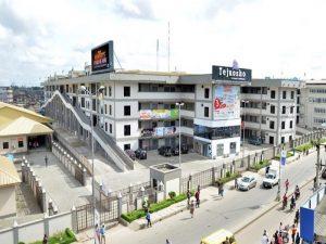 Tejuosho market complex in Lagos, Nigeria