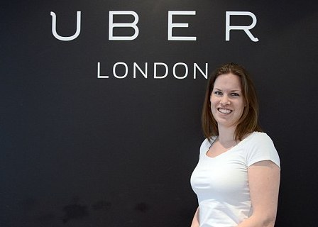 Jo Bertram, Uber's UK General Manager