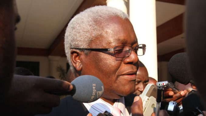 Ignatius Chomb, Zimbabwean Finance Minister