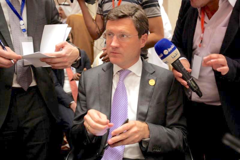 Alexander Novak, Russia's Energy Minister expects