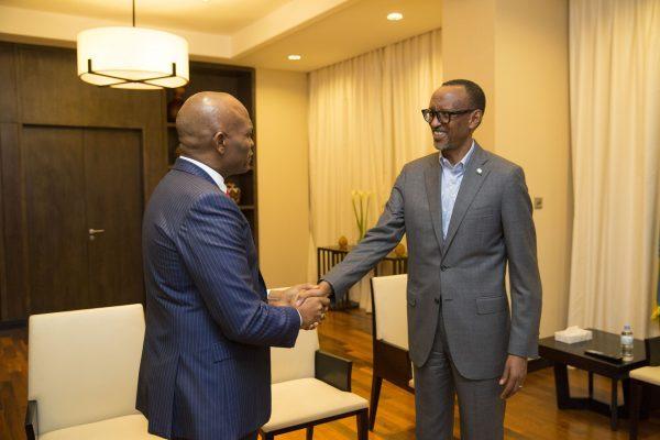 Elumelu and Kagame