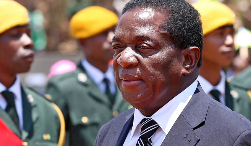 Emmerson Mnangagwam, New ZANU-PF leader