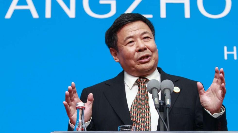 Guangyao Zhu, vice-minister of finance