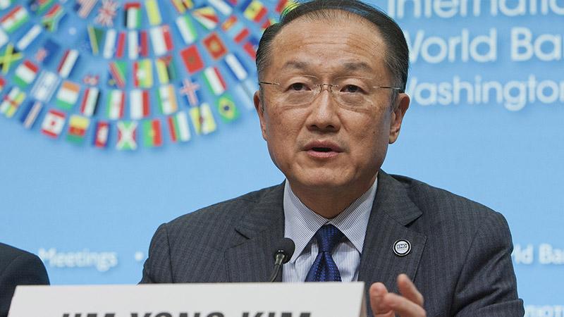 Jim Kim, World Bank head