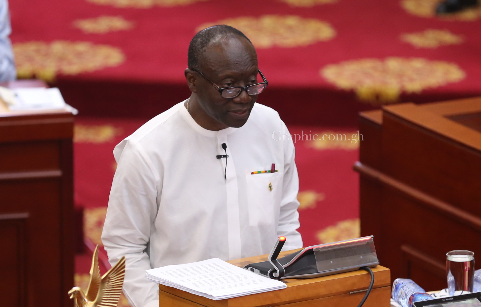 Kenneth Ofori-Atta, Ghana's finance minister