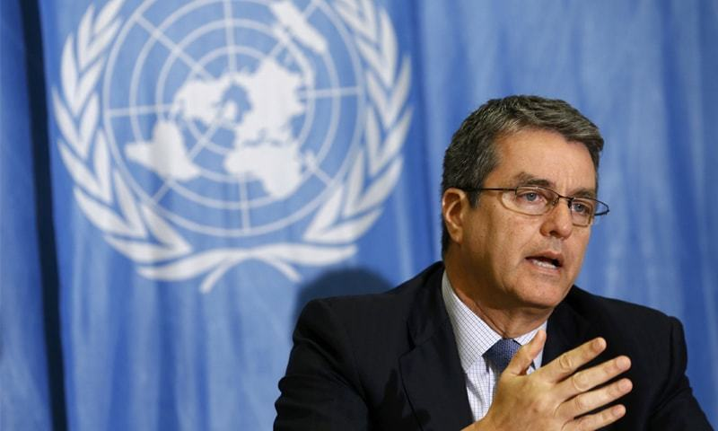 Roberto Azevedo, the Director-General of the World Trade Organisation