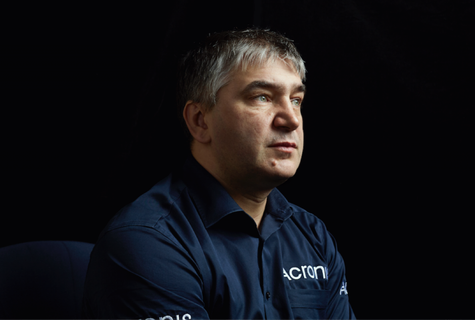 Serguei Beloussov, CEO and chairman of the board of Acronis