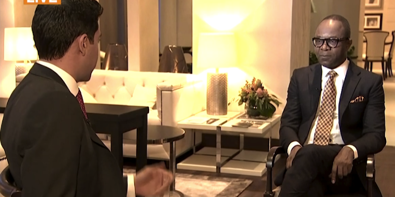 Emmanuel Kachikwu,Nigeria's petroleum minister said in a Bloomberg television interview
