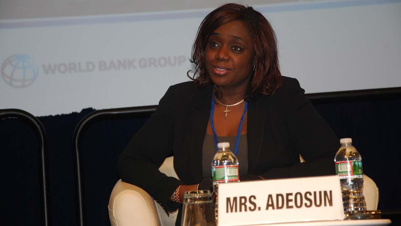 Kemi Adeosun, Nigeria's finance minister