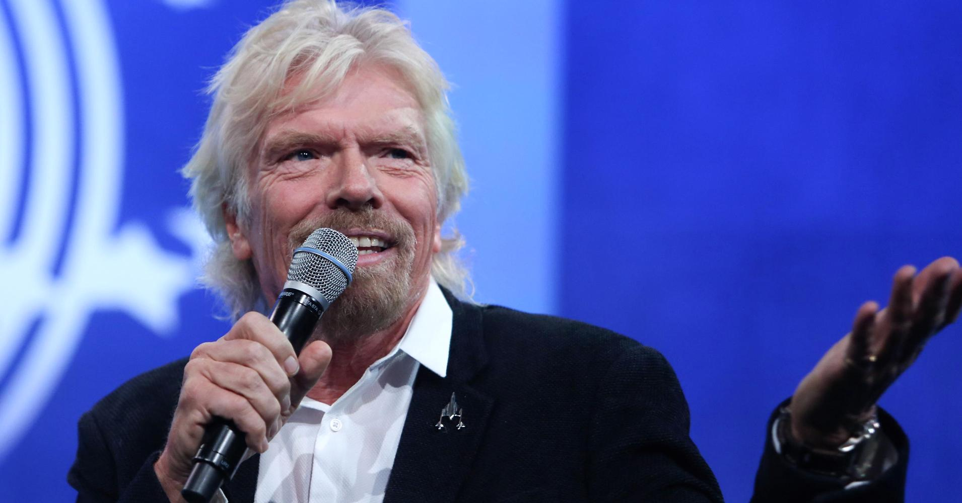 Richard Branson, billionaire business magnate