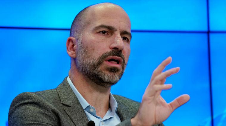 Uber CEO Dara Khosrowshahi Speaking at the World Economic Forum in Davos