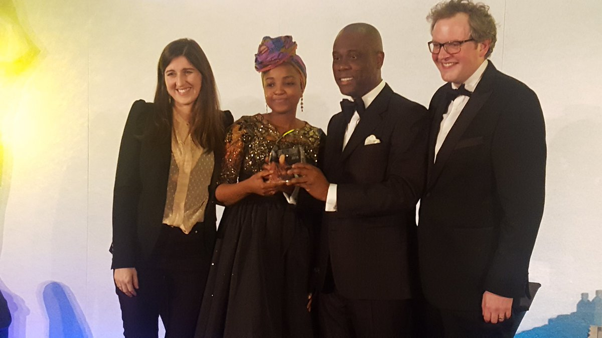 Herbert Wigwe at the Euromoney Private Banking Awards 2018