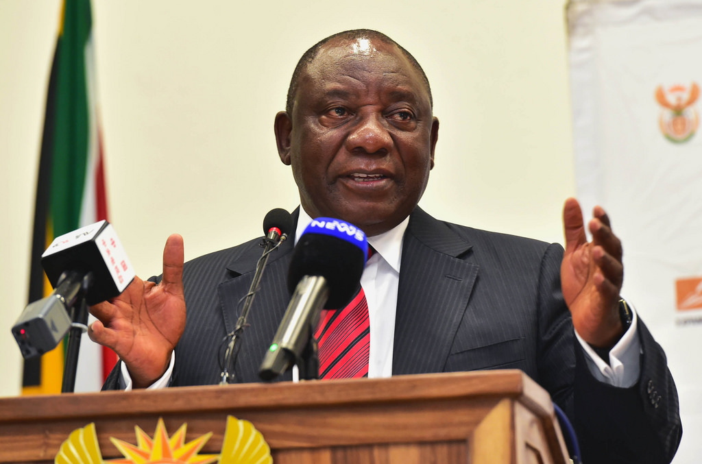 Cyril Ramaphosa, new South Africa's president
