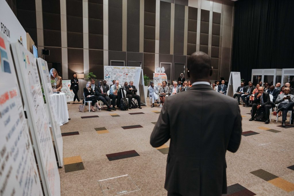 Pictorials from the ongoing Africa Investment Forum in Sandton, Johannesburg, South Africa