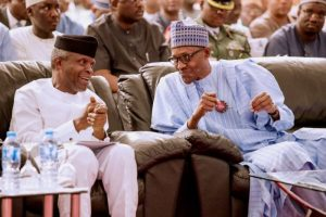 Presidency admits laying off Osinbajo's aides
