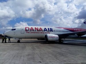 Dana Air reviews routes expansion plans ahead yuletide
