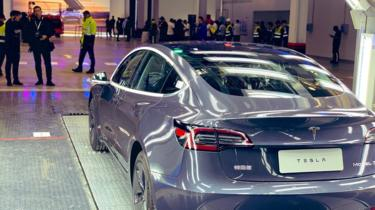 Tesla delivers its first 'Made in China' electric cars