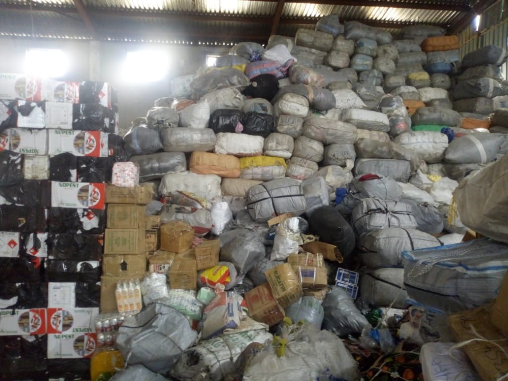 Customs earn N4.9bn, seizes N1.6bn worth of goodsat Seme Border