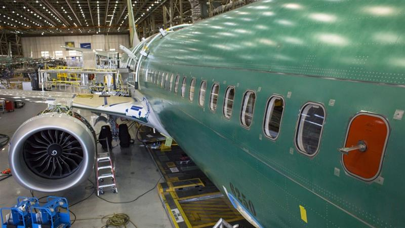 Americanplane-maker,Boeing,explains suspension of controversial 737 MAX production