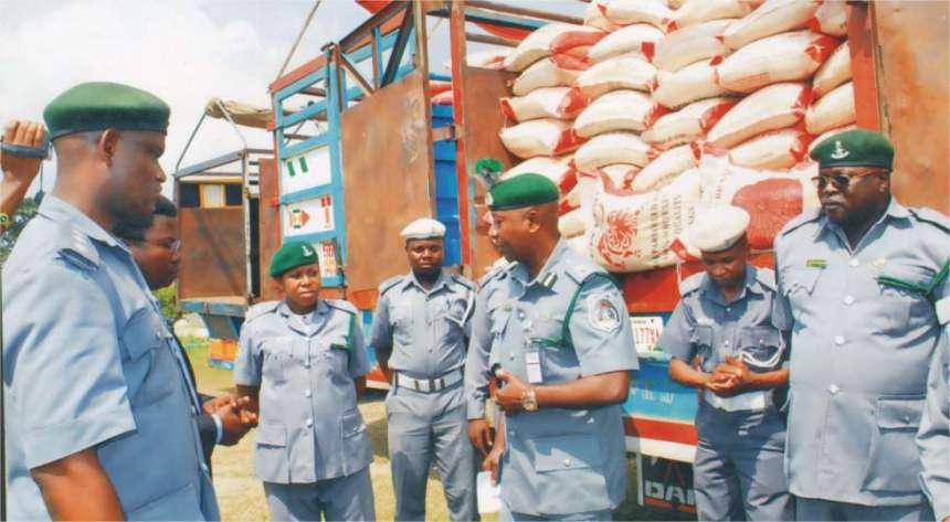Niger/Kogi Customs command intercept 7,900kg of smuggled foreign rice