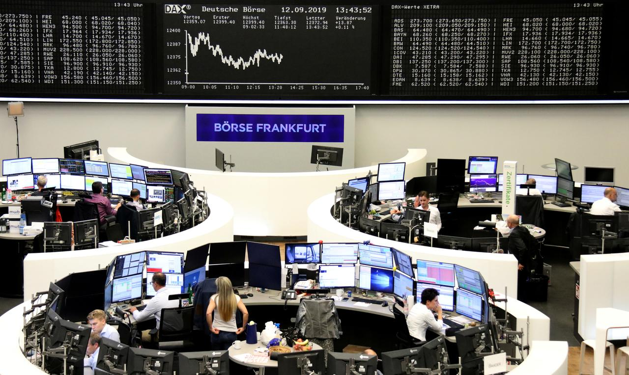European shares dragged down by Tullow Oil and weak China export data