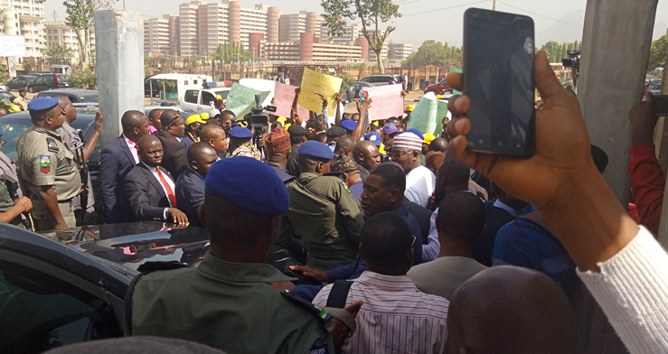 Workers protest proposed transfer of Stamp Duty collection to FIRS