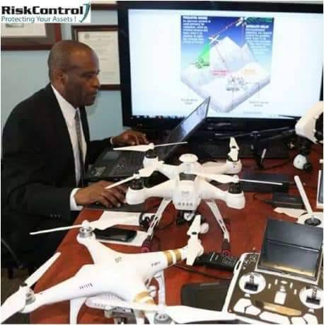 The US drone builder who is a Nigerian with 6 Masters Degree, 3 PhD