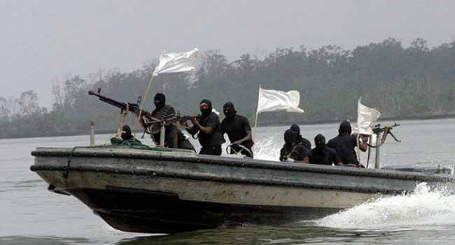 BREAKING: Lagos-bound Maersk container ship under pirates attack