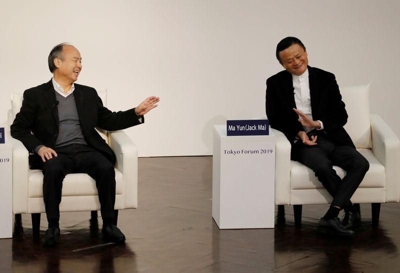 A stock and a hard place: SoftBank's $150 billion Alibaba warchest in public eye