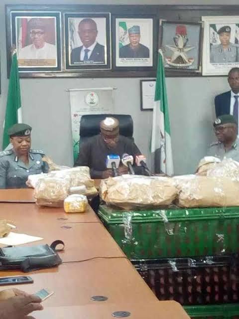 Customs smashes money laundering gang, seizes $8.06m at MMIA, Lagos