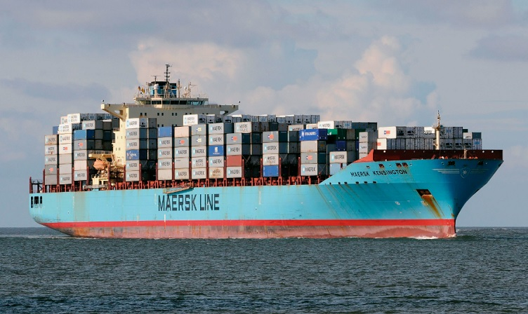 How much cargo can the largest shipping container ship really hold?