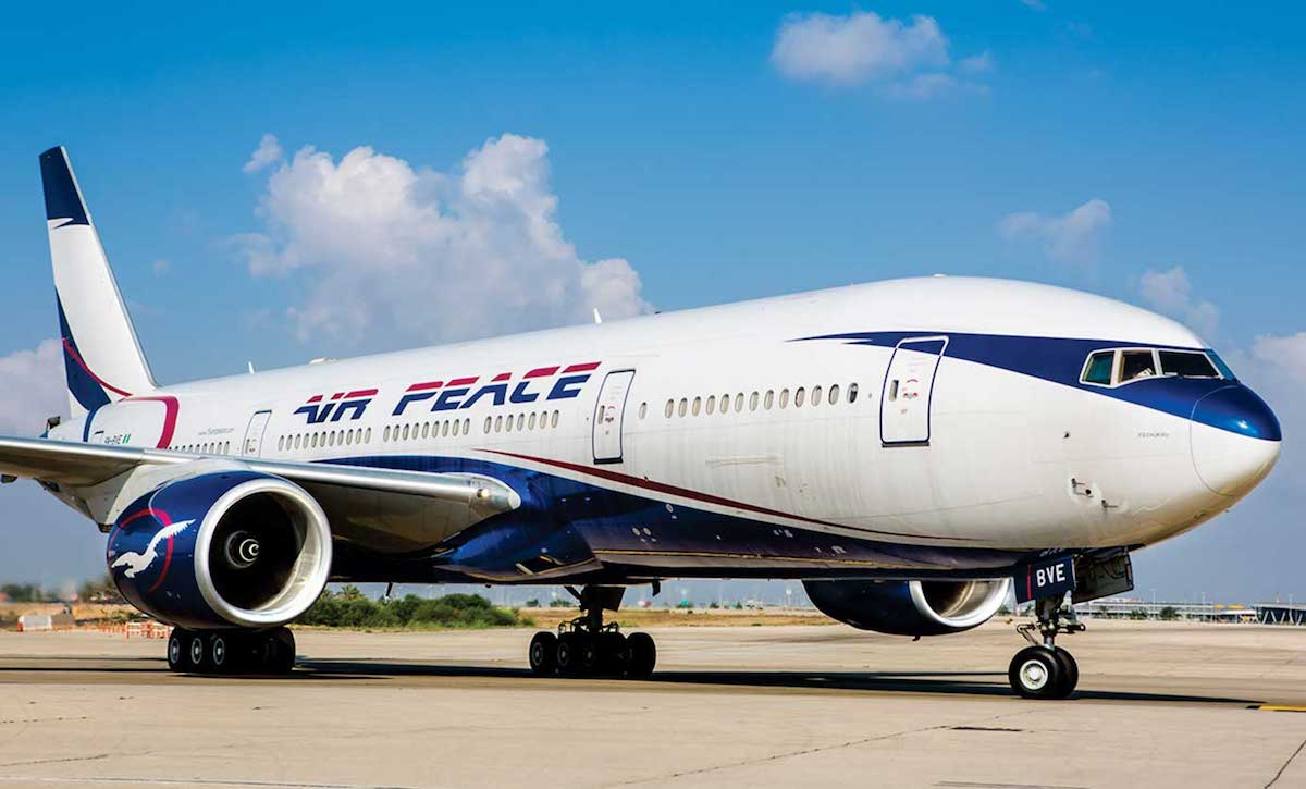 Air Peace engages B777 for evacuation of 200 Nigerians from Canada