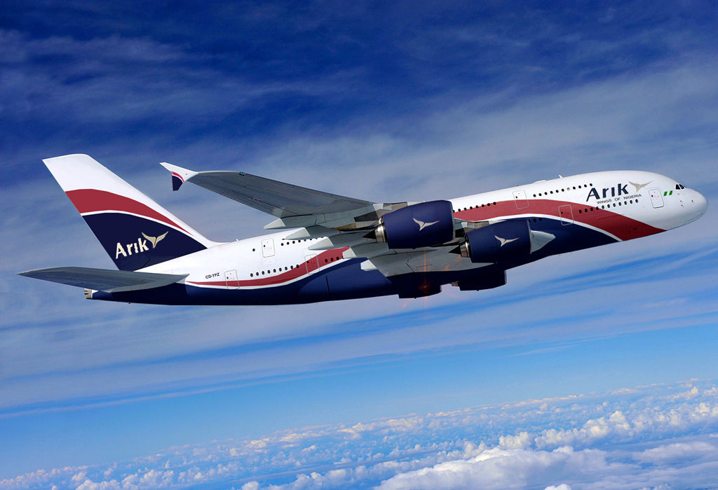 COVID-19: Arik Air suspends flights to West Coast