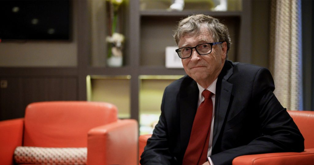 Bill Gates steps down from Microsoft after 45 years