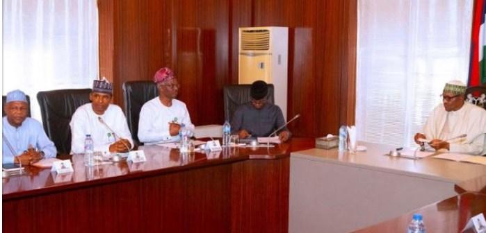 Economic council meets Buhari, warns of recession
