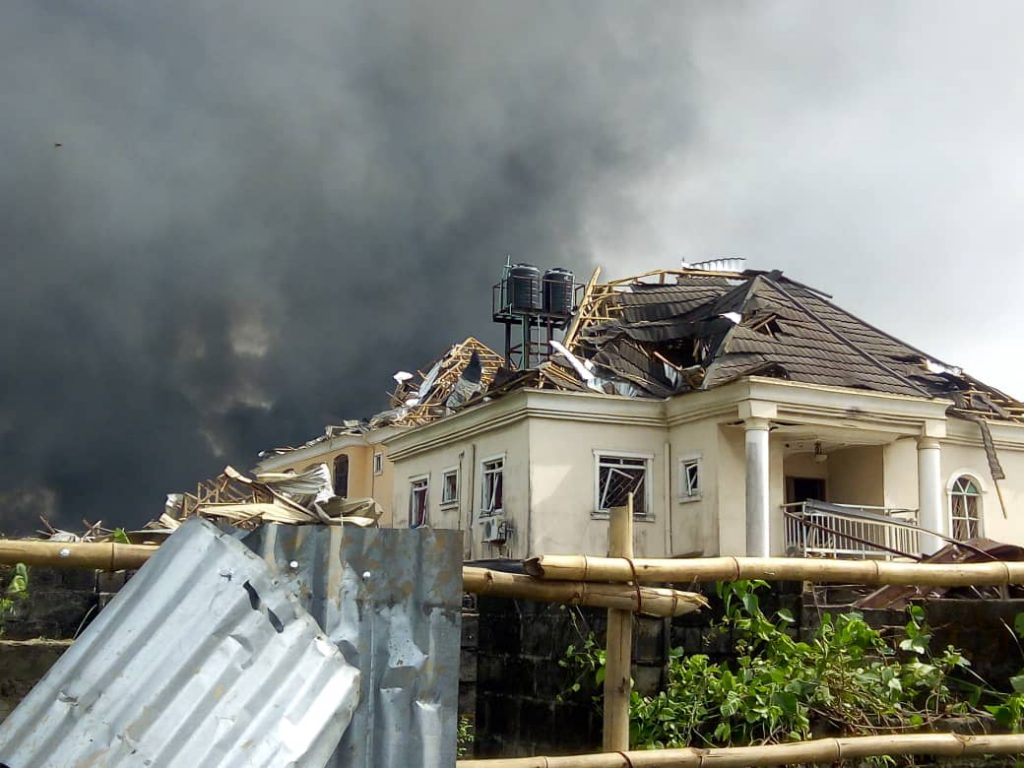 Breaking news: Lagos pipeline explosion kills 5, destroys properties worth billions of naira
