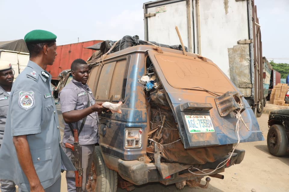 Customs FOU Zone A seizes products products worth N20.6m