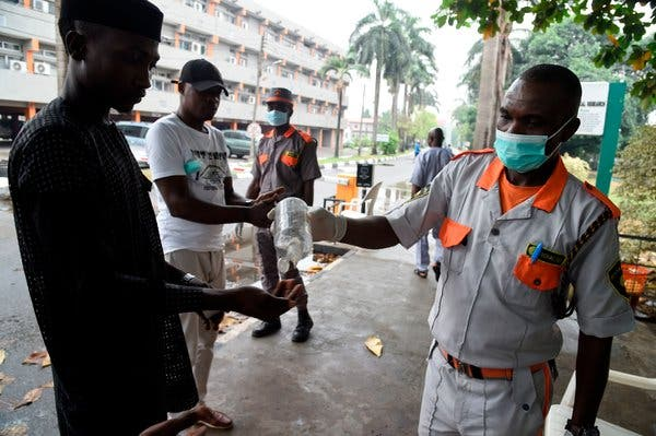 Nigeria records five new coronavirus cases